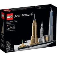 Lego Usa Warehouse 2016 Architecture New York City 21028 New Hard To Find Great Giftitemno