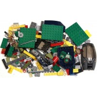 Lego 200 Random Pieces Of Good Clean Used Bricks Including Minifigure