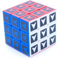 3X3X3 Supercube Arrow Shepherd Sticker Mod Twisty Puzzle Toy