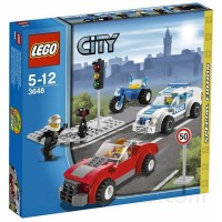 Lego 3648 Police Chase Special Edition 2011 City Series 173Pc Set Includes 3