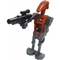 Lego Star Wars Minifigure Rocket Battle Droid With Jetpack And