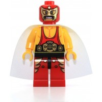 The Lego Movie Minifigure El Macho The Wrestler From Set