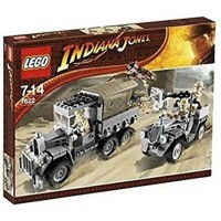 Lego 7622 Indiana Jones Race For The Stolen