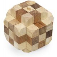 Giant Hidden Passage Handmade Organic Mechanical 3D Brainteaser Wooden Puzzle For Adults From