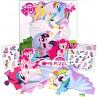 My Little Pony Giant Floor Puzzle 3 Foot Puzzle 46 Pieces Bonus My Little Pony
