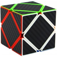 Ahyuan Skewb Speed Cube Puzzle Carbon Fiber Sticker Intelligence Development Speed Cubing Beginners