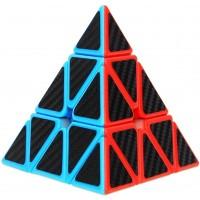 Dreampark Pyramid Speed Cube Triangle Carbon Fiber Sticker Twisty Puzzle Intelligence Development
