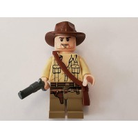 Lego Indiana Jones Minifig Indiana Jones Open