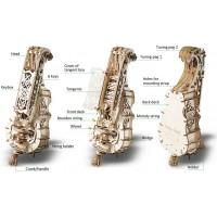 Ugears Mechanical Models 3D Wooden Puzzle Mechanical Hurdygurdy Musical