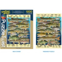 Somethings Amiss 1000 Piece Jigsaw Puzzle Fish