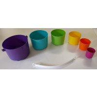 Tupperware Toteem Pails Toy