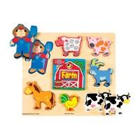 Chunky Farm Puzzle Book
