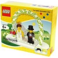 Lego Mini Figure Set 853340 Wedding Bride Groom Table