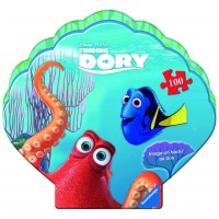Ravensburger Disney Finding Dory In A Clam Shaped Box 100 Piece Jigsaw Puzzle Every Piece Is Unique