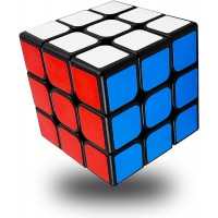 Full Size 56Mm Magic Speed Cube 3x3 Easy Turning And Smooth Play Durable Puzzle