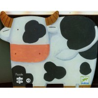 Djeco Shaped Box Puzzle The Cows On The