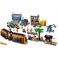 Lego City Town City Square 60097 Building