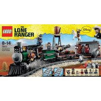 Lego Disney The Lone Ranger Constitution Train Chase W Minifigures