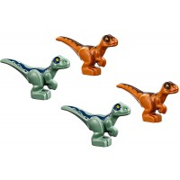Lego Jurassic World 4 Baby Dinosaurs Green Brown New For 2018 Very