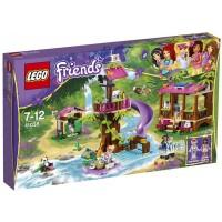 Lego Friends Jungle Rescue Base Kids Play Building Set W Minifigures