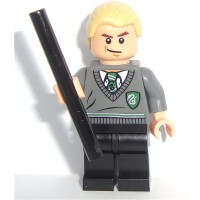 Lego Harry Potter 2010 Mini Figure Draco Malfoy With