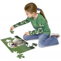 Melissa Doug Golden Retriever Puppy Cardboard Jigsaw Puzzle 30