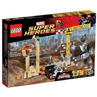Lego 76037 Super Heroes Rhino And Sandman Super Villain