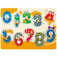 Robotime Colorful Wooden Number Peg Puzzle Smooth Easygrab Peg Puzzle Game For Toddlers 1 2 3