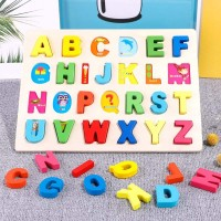 Puzzles For Toddlers 3 Years Toddler Puzzles Alphabet Puzzle Wooden Jigsaw Brain Development Games