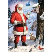 Vermont Christmas Company Santas Little Friends Kids Jigsaw Puzzle 100