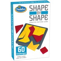Thinkfun Shape By Shape Creative Pattern Logic Game For Age 8 To Adult Learn Logical Reasoning