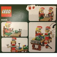 Lego 40205 Christmas Seasonal Holiday Elves