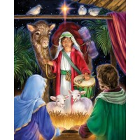Vermont Christmas Company A Gift For The King Jigsaw Puzzle 1000