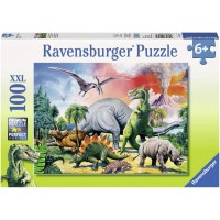 Ravensburger Among The Dinosaurs Puzzle 100