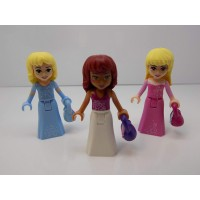 Lego Lot Of 3 Friends Princess Minifigures With
