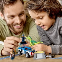 Lego Juniors4 Jurassic World Raptor Rescue Truck 10757 Building Kit 85