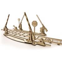 The Ugears Model Rails 3D Wooden