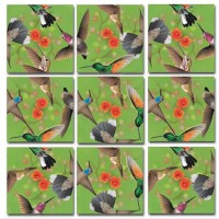 Bundle Of Scramble Squares B Dazzle Birds Puzzles For Adultsteenskids 3 Puzzles Included North