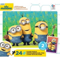 Ceaco Minions 2Sided Floor Puzzle