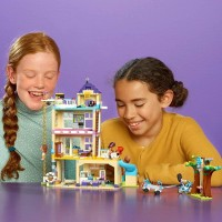 Lego Friends Friendship House 41340 Kids Building Set With Minidoll Figures Popular Toy And Gift