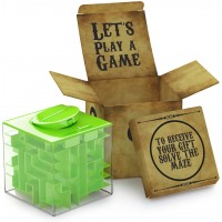 Agreatlife Money Maze Puzzle Box Unique Storage With A Well Crafted Package Full Of