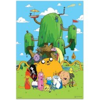 Adventure Time 300 Piece Puzzle With Bonus Poster