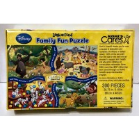 Disney Classics Look And Find Family Fun 300Pc