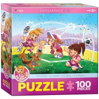 Eurographics Soccer Stars Go Girls Go Puzzle