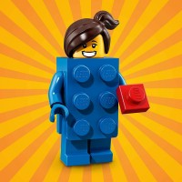 Lego Series 18 Collectible Party Minifigure Lego Brick Suit Girl