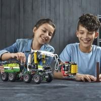 Lego Technic Forest Machine 42080 Building Kit 1003