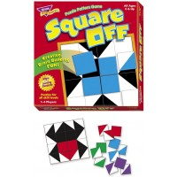 Trend Enterprises Square Off Puzzle Pattern