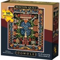 Dowdle Dowdle Jigsaw Puzzle Boston Quilt 500