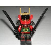Lego Ninjago Nya Minifigure Samurai X Authentic Zukin Ninja Dbx Figure