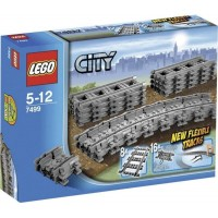 Lego City Flexible Tracks 7499 Train Toy